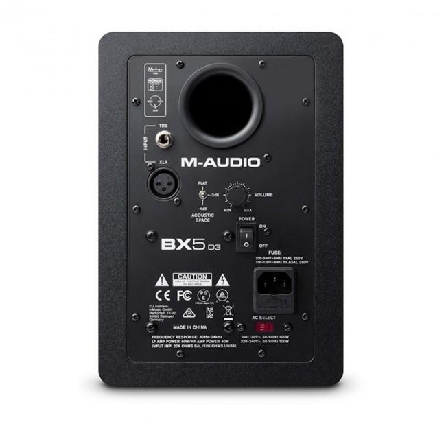 """M-Audio BX5D3   Monitor Activo de Estudio  5"""""""
