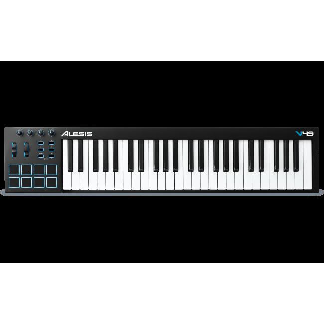 Alesis V49 | Controlador de Teclado USB-MIDI de 49 Teclas