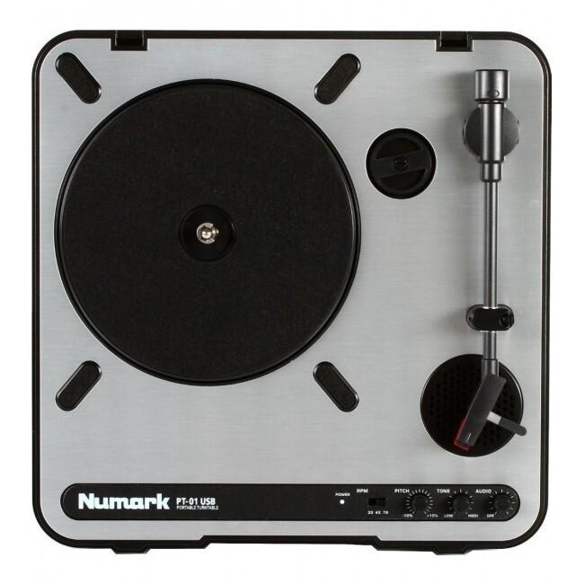 NUMARK PT01 | Bandeja Giradiscos USB