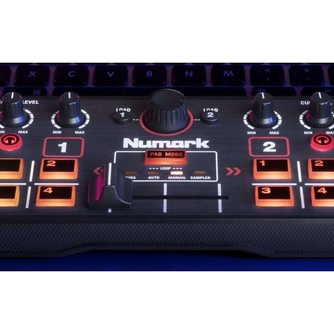 NUMARK DJ2GO2 | Controlador DJ  c/ placa de audio