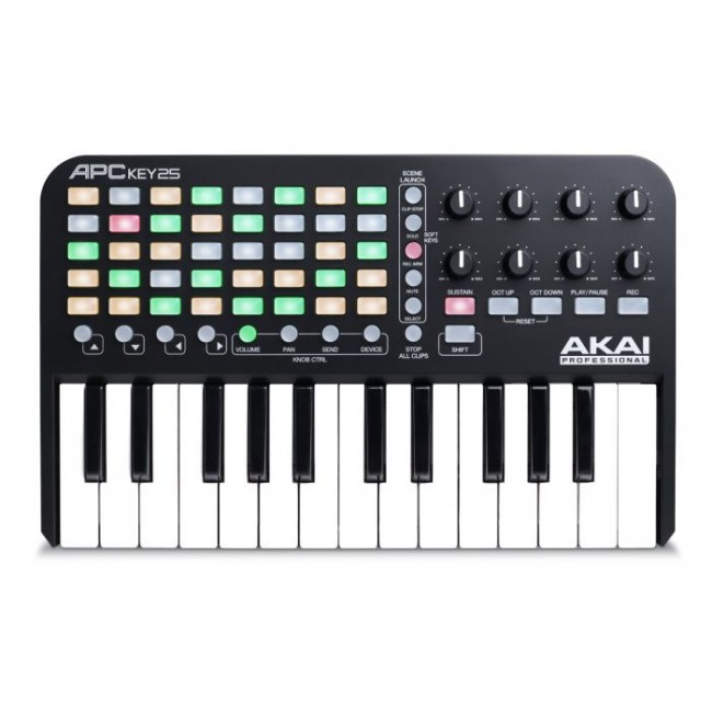 AKAI APCKEY25 | Controlador MIDI de 25 teclas y  Ableton Live