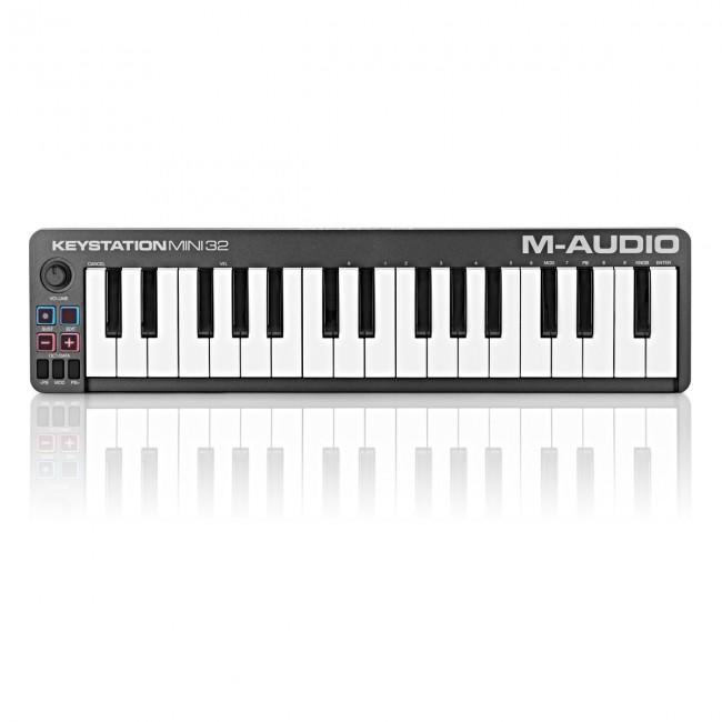M-Audio KEYSTATIONMINI32II | Controlador MIDI/USB de 32 mini teclas