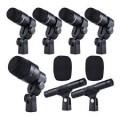Micrófonos de instrumentos con cable
