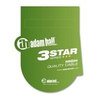 ADAM HALL K3IPR0900P   Cable de Instrumento de Jack 6,3 mm mono a Jack 6,3 mm mono acodado 9 m