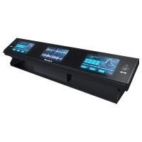 NUMARK DASHBOARD |Sistema con 3 pantallas para controlador DJ, accesorio oficial para Serato DJ