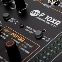 RCF F10XR | Mesa De Mezcla De 10 Canales Con Multiefectos Y Grabadora