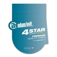 ADAM HALL K4YVMF0300   Cable de Audio REAN de Jack 6,3 mm estéreo a 1 XLR macho y 1 XLR hembra 3 m