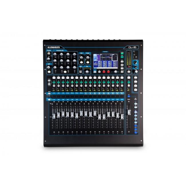 Allen & Heath QU-16 | Mezclador Digital con 16 Canales Chrome Edition