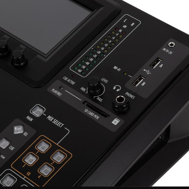 RCF M20X | Mezclador Digital De Escritorio