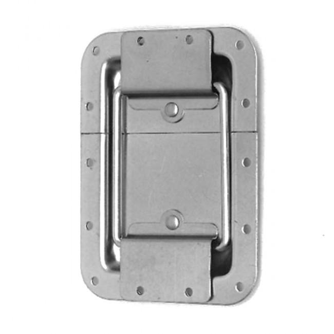 Penn Elcom 2101   Bisagra con Tope de Embutir Chico de 102mm x 105mm
