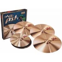 "PAISTE PST7 Heavy Rock Set | Platillos para Batería Hi-Hat 14"" + Crash 16"" + Ride 20"""