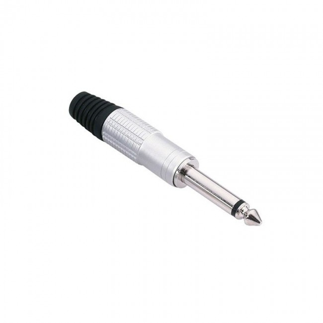 ADAM HALL 7514   Conector aéreo Jack 6,3 mm mono plata