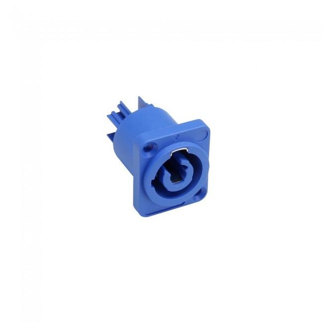 ADAM HALL 7921 | Conector chasis macho, de entrada, azul