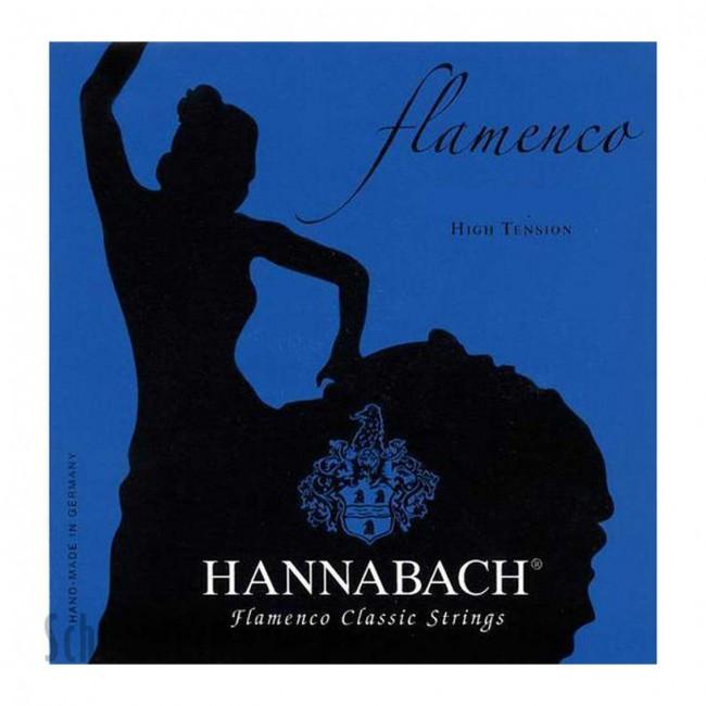 HANNABACH 827HT | Cuerdas para Guitarra Clásica Flamenca High Tension Azul