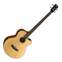 CORT AB850F-NAT | Bajo Electroacústico Natural Acoustic Bass Series