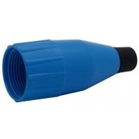 Amphenol AC-NUT-BLU | Tapa Trasera Plástica Azul XLR