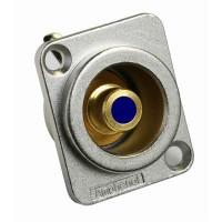 Amphenol ACJD-BLU | Conector RCA Hembra Chasis Azul