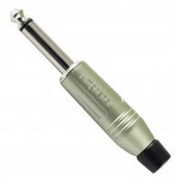 Amphenol ACPM-GN | Ficha Macho Plug 1/4 Mono de Metal Recto
