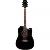 CORT AD880CE-BK   Guitarra Electroacústica Dreadnought Black