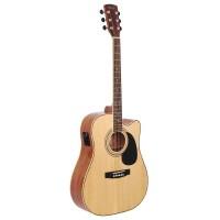 CORT AD880CE-NS | Guitarra Electroacústica Dreadnought Natural Satin