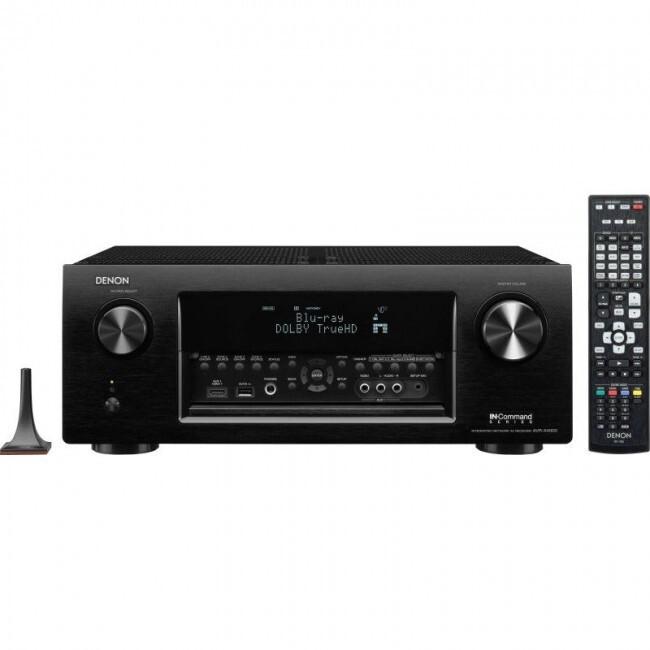 Denon Dj AVRX4000P | Receptor de Audio y Video Digital Profesional