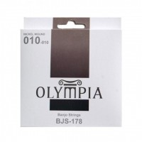 OLYMPIA BJS178 | Cuerdas para Banjos de 5 Cuerdas Calibres 10-10