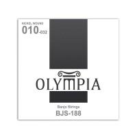 OLYMPIA BJS188 | Cuerdas para Banjo de 4 Cuerdas Calibres 10-32