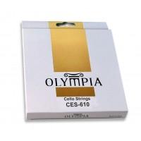 OLYMPIA CES610 | Set de Cuerdas para Violoncello