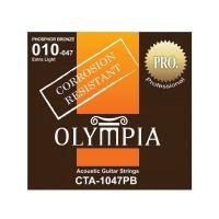 OLYMPIA CTA1047PB | Cuerdas para Guitarra Acústica Calibres 10-47