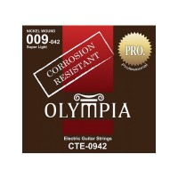 OLYMPIA CTE0942 | Cuerdas de Guitarra Eléctrica Calibres 9-42