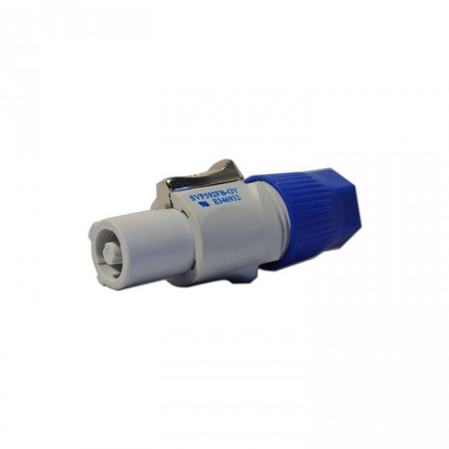 Lion Support CXP-PCHAG | Conector Hembra Cable Gris