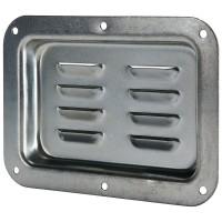 Penn Elcom D0506Z | Base de Embutir Grande para Ventilación Zincado