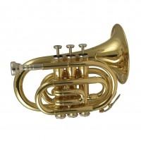 WISEMANN DPT-400 | Trompeta Pocket Pequeña Clave Bb
