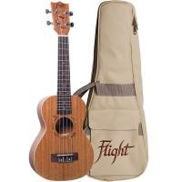 FLIGHT DUC323-MAH-MAH | Ukelele de Caoba Concierto Mah/Mah con Funda