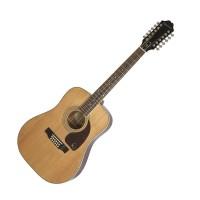 Epiphone EA2TNACH1 | Guitarra acústica de 12 Cuerdas Natural DR-212