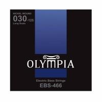 OLYMPIA EBS466 | Cuerdas para Bajo Eléctrico de 6 Cuerdas Calibres 30-125