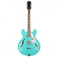 EPIPHONE ETCATQCH1 | Guitarra Eléctrica Casino Archtop Hollowbody Turquoise
