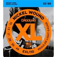 DADDARIO EXL110 | Cuerdas para Guitarra Electrica Calibres 10-46