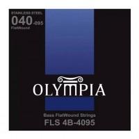 OLYMPIA FLS4B-4095 | Cuerdas para Bajo Flatwound Calibres 40-95