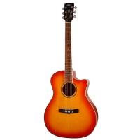 CORT GA-MEDX-LVBS   Guitarra Electroacústica Gran Auditorio Light Vintage Burst