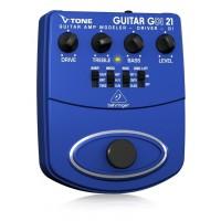 BEHRINGER GDI21 | Modelador de Amplificador de Guitarra V-Tone DI