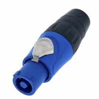 Amphenol HP-3-F |Conector Powercon In Azul