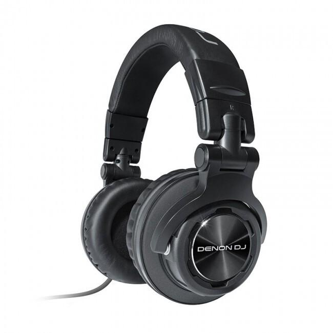 DENON DJ HP1100 | Auriculares cerrados profesionales para DJ