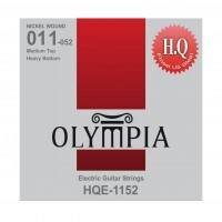 OLYMPIA HQE1152 | Cuerdas para Guitarra Eléctrica Medium Top Calibres 11-52