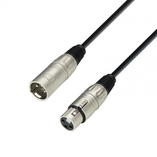 Adam Hall K3MMF1000   Cable de Micro de XLR hembra a XLR macho 10 m