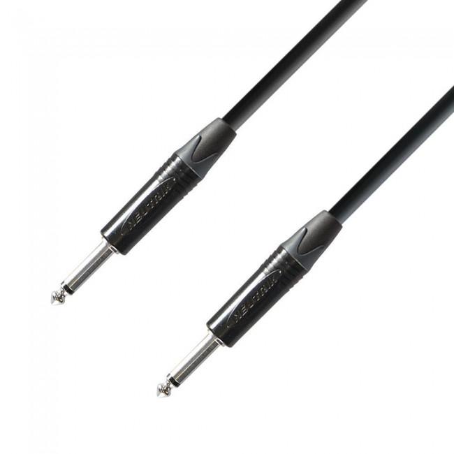ADAM HALL K5IPP0300 | Cable de Instrumento Neutrik de Jack 6,3 mm mono a Jack 6,3 mm mono 3 m
