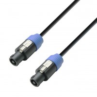 ADAM HALL K5S215SS1000 | Cable de Altavoz 2 x 1,5 mm Neutrik de Speakon 2 Pines a Speakon 2 Pines 10 Mt