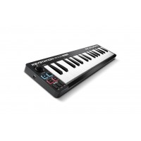 M-AUDIO KEYSTATIONMINI32MK3 | Controlador de Teclado MIDI Mini USB Ultraportátil de 32 Teclas