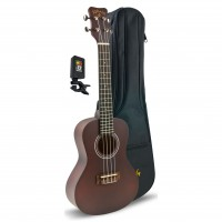 KOHALA KPP-C | Player's Pack de Concert Player con Ukelele, Bag, Tuner