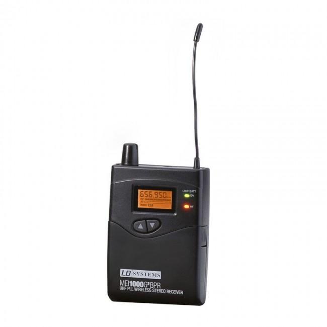 LD SYSTEMS LDMEI1000G2BPRB6 | Receptor para sistema de monitoreo IN-EAR